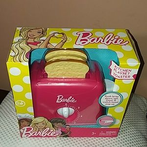 New Barbie Kitchen Playset Toaster Nwt